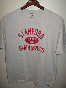 Stanford-University-Palo-Alto-California-2009-Gymastic-Camp-Sports-T-Shirt-Lrg