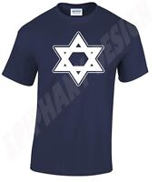 Star Of David Jewish Icon Religeous Symbol Israel Judaism T-Shirt Many Colours