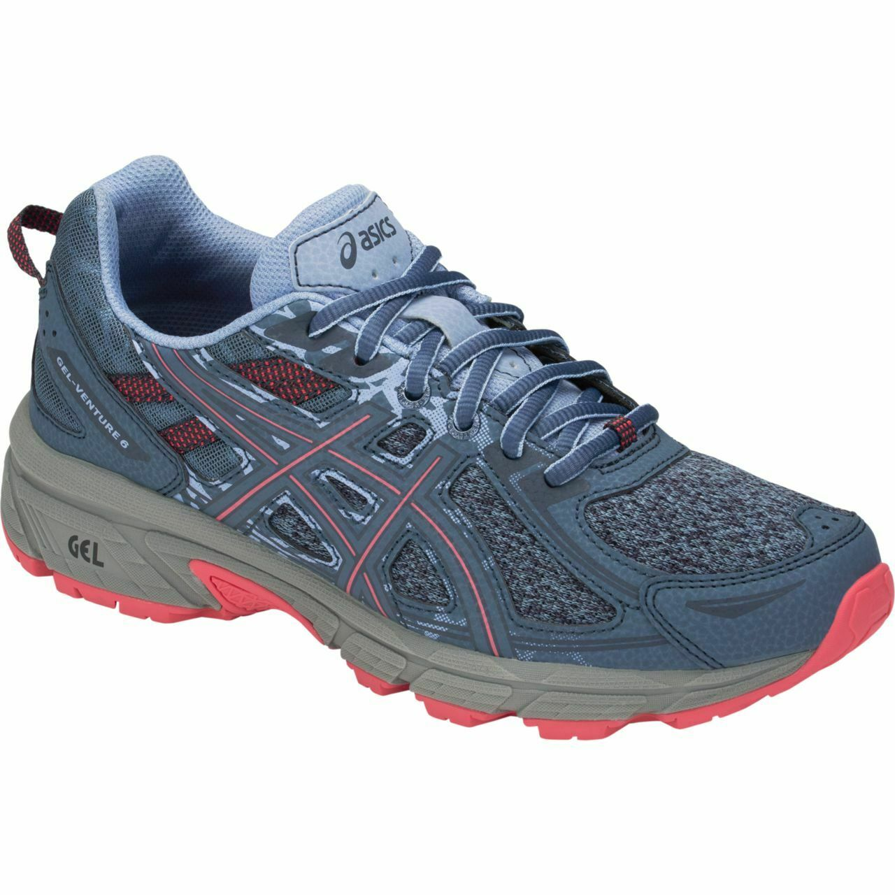 LATEST    Asics Gel Venture 6 Womens Trail Running shoes (B) (1012A504 400)