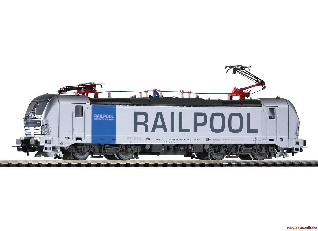 70% de descuento H0 e-Lok Vectron 193 railpool EP. vi vi vi 2 Pantos Piko 59970 nuevo     Tienda 2018