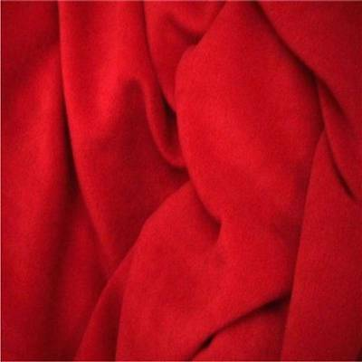 RED Polar FLEECE soft fabric material antipill 150cm wide sold by the metre