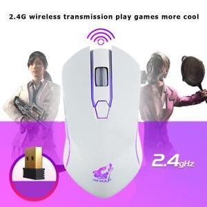X9-Kabellose-Optische-Maus-6-Knoepfe-1800DPI-USB-Wiederaufladbar-PC-Gaming-Lot