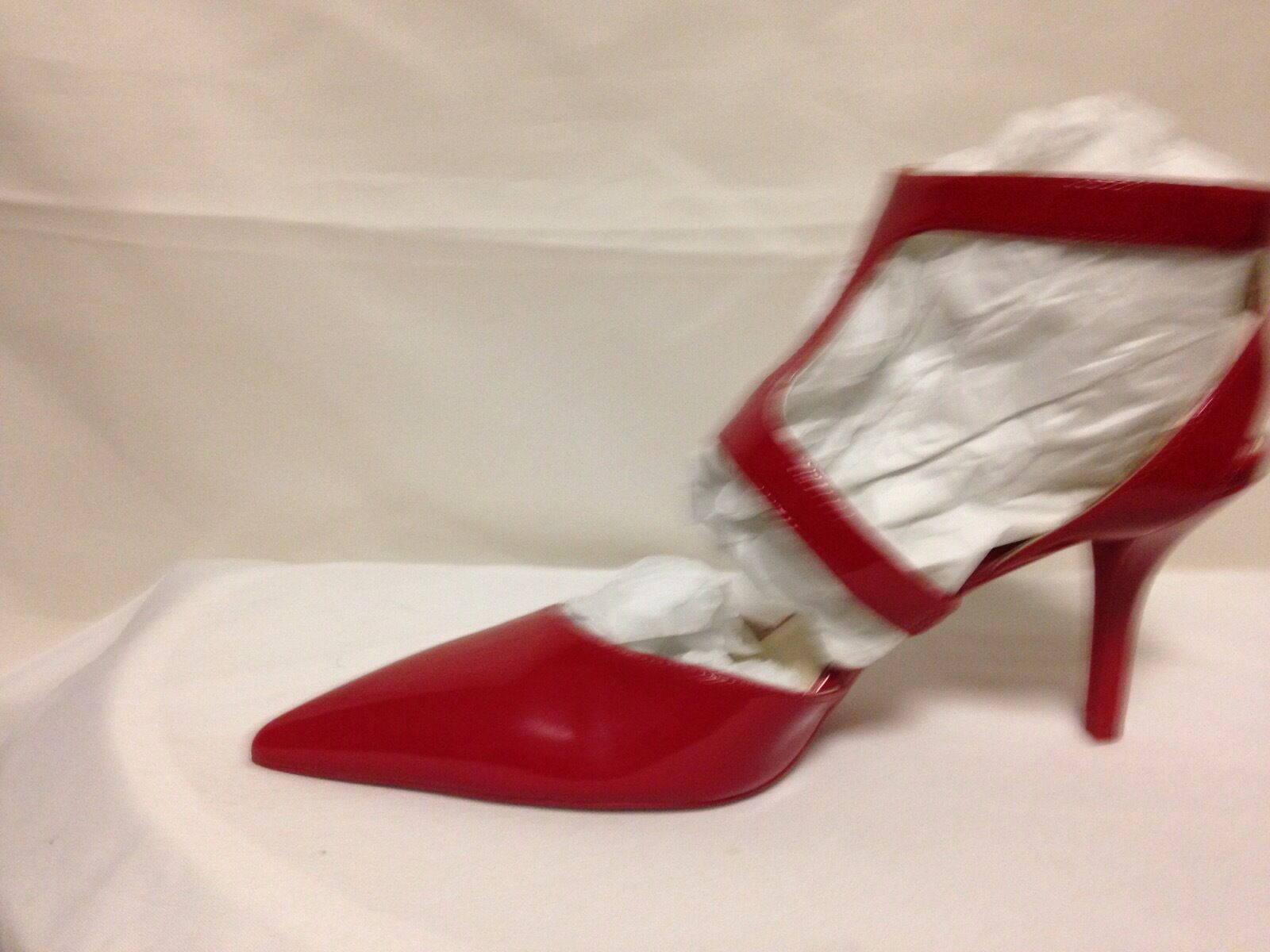 Kenneth Cole Laird Strappy M Pointed Toe Pump 11 M Strappy Red  New w/Defects 95fddf