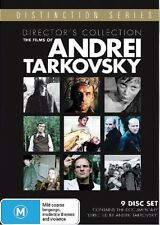 THE FILMS OF ANDREI TARKOVSKY (9 disc Director's Collection) DVD -UK Compatible