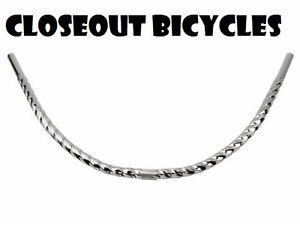 BICYCLE HANDLEBAR 25.4MM ROUND  TWISTED MOON CRUISER LOWRIDER CHOPPER COMFORT