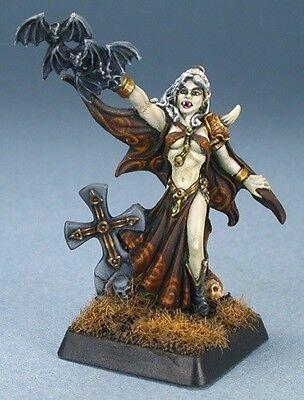 Naomi Necropolis Mage Reaper Miniatures Warlord Vampire Undead Wizard Caster