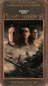 BEN-AFFLECK-034-PEARL-HARBOR-034-2-VHS-SET-1998-touchstone-sealed