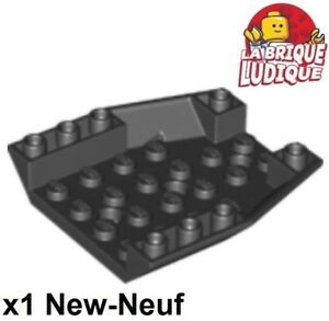Lego-1x-Wedge-6x6-Triple-Inverted-Case-Cockpit-Hull-Black-Black-29115-New