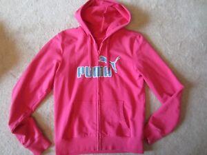 completo pista con cappuccio Medium donna cappuccio Felpa Felpa Felpa da con M da Puma Pink qAzPpfn