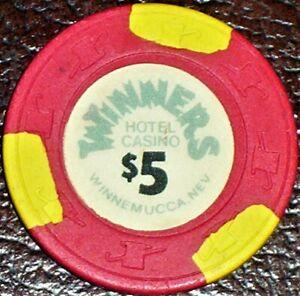 Old $5 NORTH SHORE CLUB Casino Poker Chip Vintage Antique Lake Tahoe NV 1968