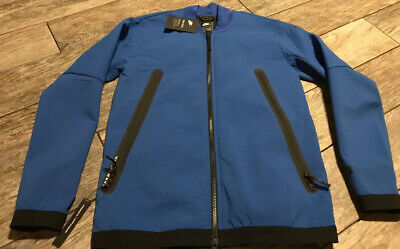 New Nike NSW Tech Pack Zip Track Jacket Blue Mens Size ...
