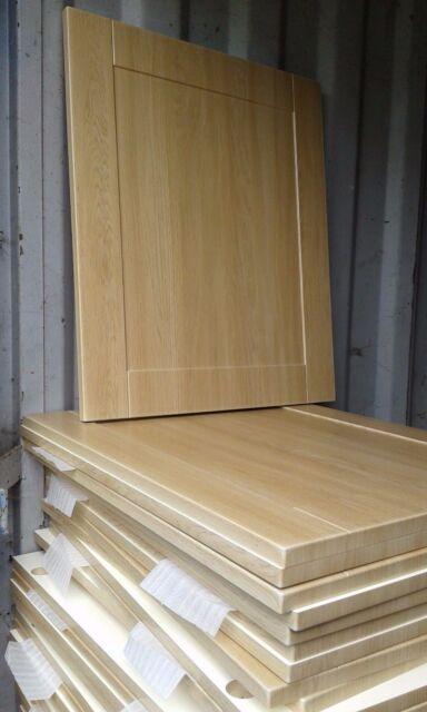 Shaker Light Oak Kitchen Cupboard Doors Drawers To Fit Howdens Magnet Wren Units