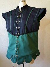 Men's Renaissance Doublet, Pirate Costume, Tudor Vest, Renaissance Vest