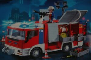 Playmobil -- Pièce de rechange -- Camion  pompier 4821