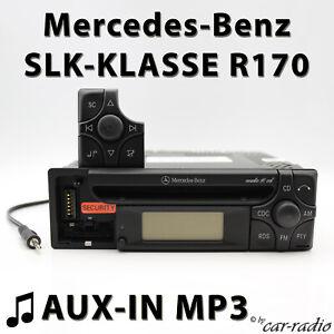 MERCEDES-AUDIO-10-CD-mf2199-Aux-in-mp3-r170-radio-SLK-CLASSE-w170-CD-R-AutoRadio