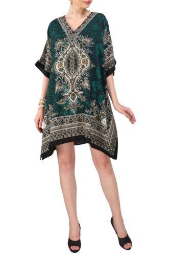 Miss Lavish Caftan Kimono robe tunique soirée Haut Gratuit Taille
