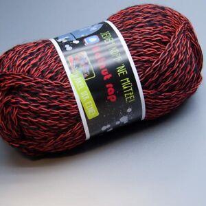 7.50 EUR pro 100 g hatnut gaudy 090 schwarz-gelb 50g Wolle