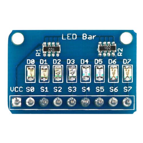 24mA 3-5.5VDC 8Pcs LED Festzelt Anzeige Modul Board Mit 4 Farben Für Arduino GE