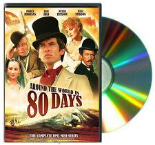 Around the World in 80 Days DVD Complete Mini-Series starring Pierce Brosnan NEW