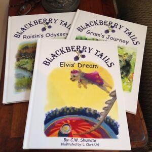 Childrens-Series-Blackberry-Tails-3-book-Set-Gram-Raisin-Elvis