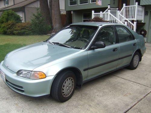 92 95 Honda Civic Sedan Rear Upper Wheel Arch Set Repair Panel 4 Door