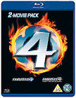 Fantastic Four/Fantastic Four - The Rise Of The Silver Surfer (Blu-ray, 2008, 2-Disc Set)