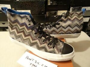 sports shoes 9e4f9 a4aee Image is loading CONVERSE-CT-SPEC-FS-HI-MISSONI-CHUCK-TAYLOR-