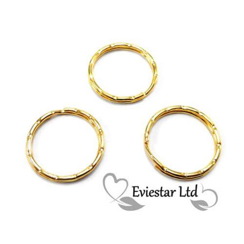 Key Rings Split Rings 25mm Jewelery Findings G244