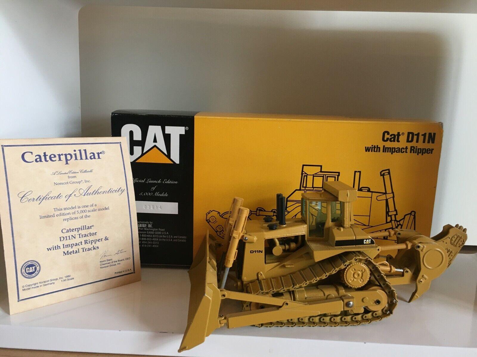Caterpillar D 11 N Bouteur Impact éventreurs Limited de Conrad 2854 1 50 Neuf Dans Sa Boîte