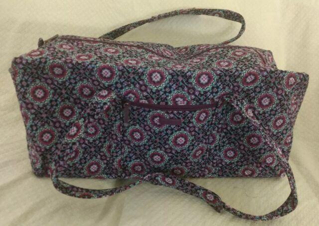 Vera Bradley XL Duffel Travel Bag Bandana Swirl 1 Extra Large for ... ce8a160ba77f9
