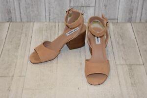 fff8c1baede Steve Madden Devlin Nubuck Ankle Strap Sandals, Women's Size 8M, Tan ...