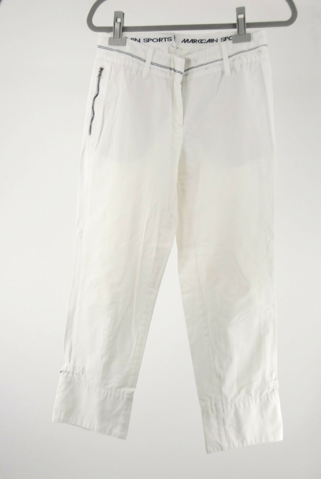 Marc Cain Hose N 4 40 (D) Baumwolle white top Marccain