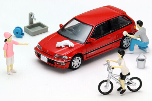 Tomica Limited Vintage TOMYTEC Diocolle 64 Carsnap 02a CAR WASH Honda Civic 25XT