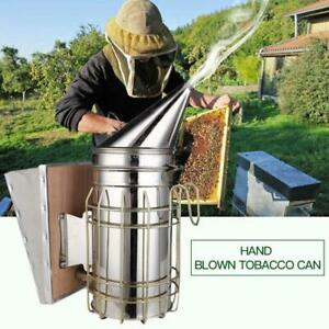 Bee-Keeping-Hive-Smoker-Stainless-steel-Heat-Shield-Board-Beekeeping-Equipment