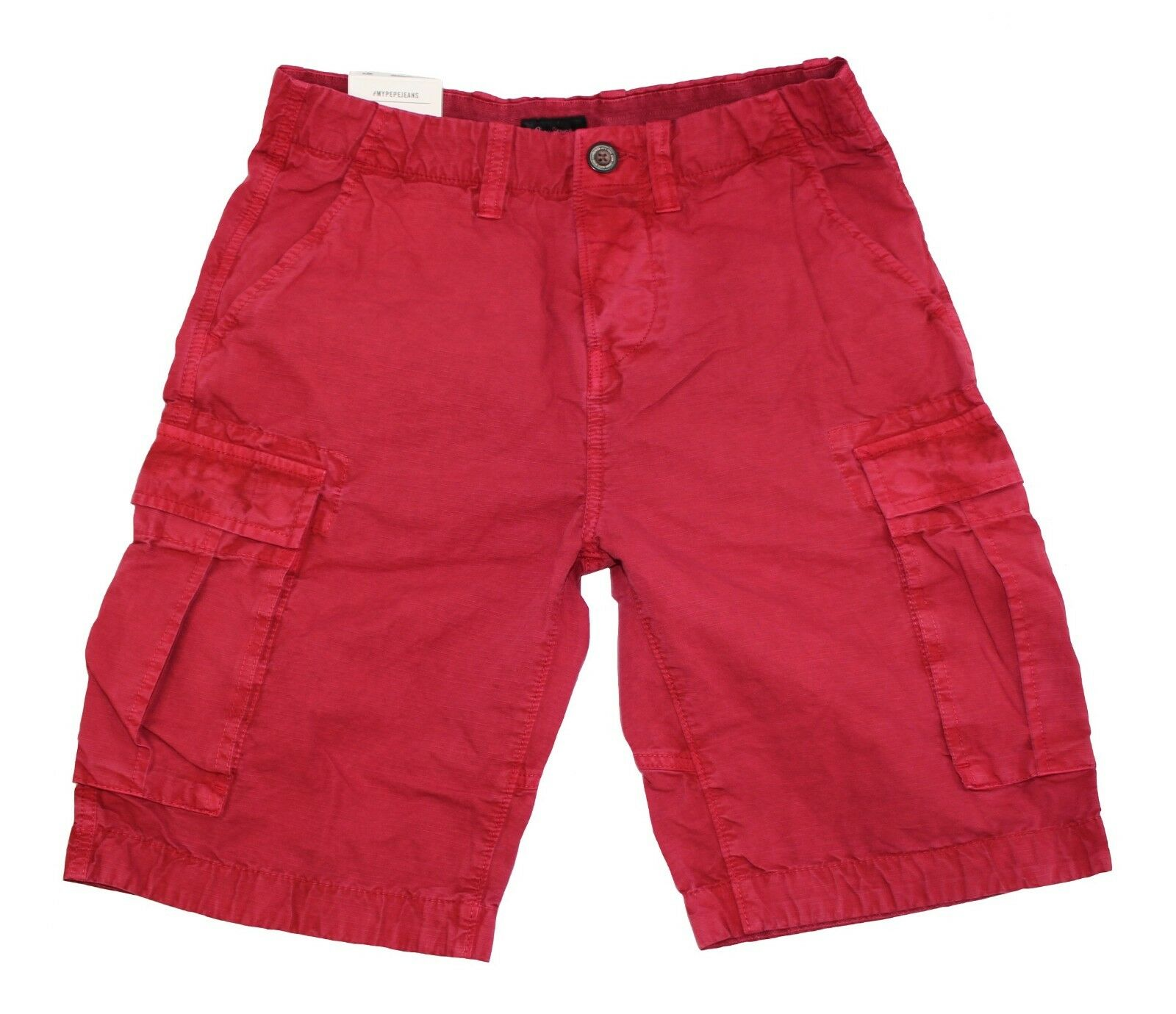 Pepe Jeans  JOURNEY RIPSTOP SHORT burnt red