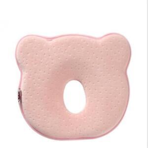 Baby Kids Pillow Memory Velvet Prevent Flat Head Anti Roll Support Neck T