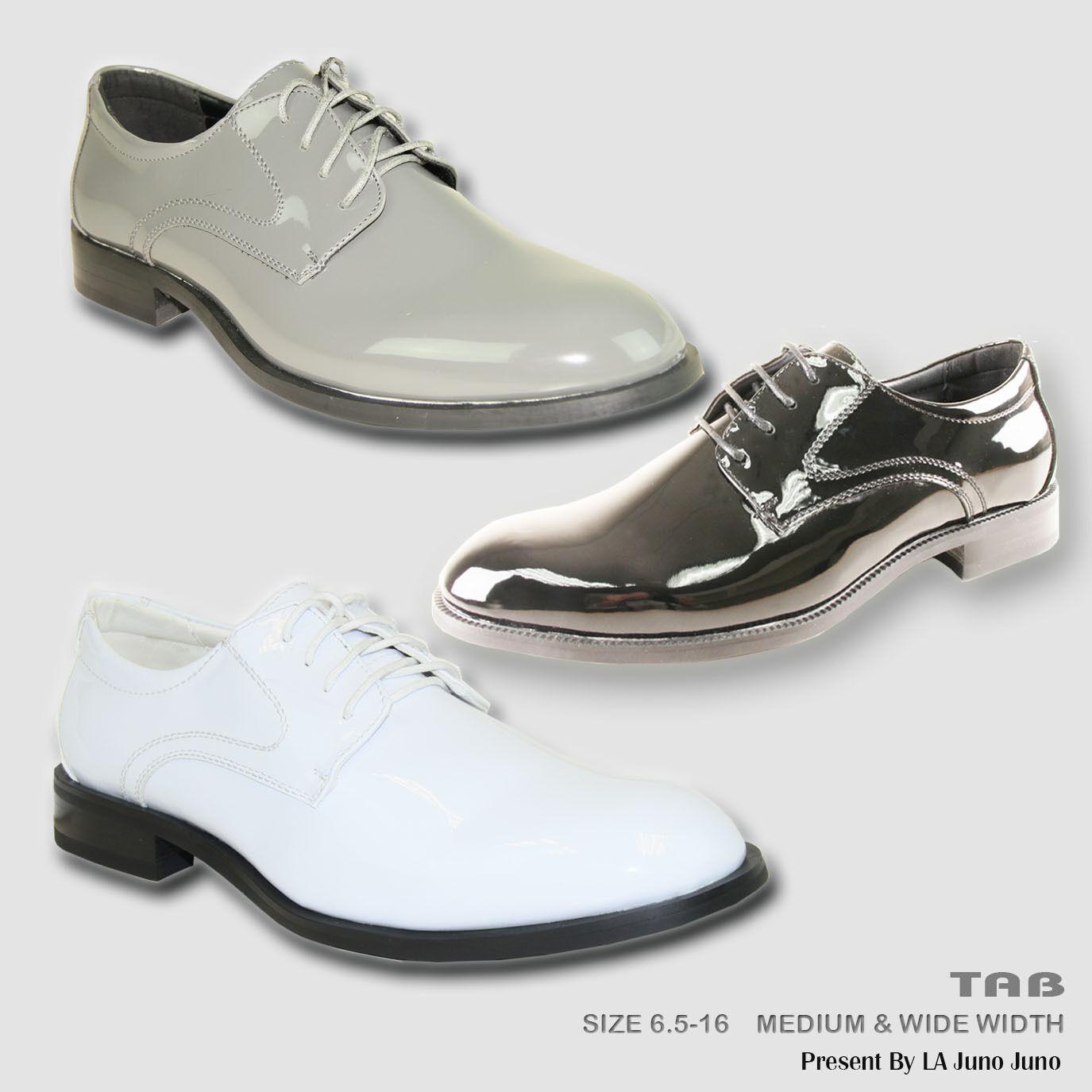VANGELO TAB New Men Dress Shoes TAB VANGELO Tuxedo For Formal Wedding and Prom Wrinkle Free 9ea5ff