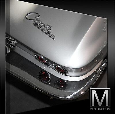 Poster & Bilder Auto & Motorrad: Teile Chevrolet Corvette C2 Stingray Bild Canvas Art Kunstdruck Echtes Leinwandbild Zahlreich In Vielfalt