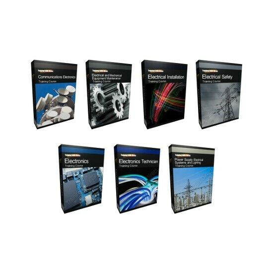 2019 Huge Electronics Training Course Collection Bundle CD-ROM