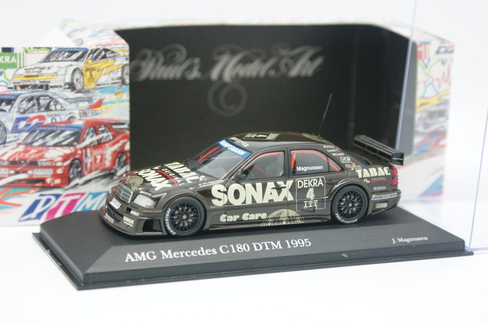 Minichamps 1 43 - Mercedes C 180 Klasse AMG DTM 1995 Magnussen N°4
