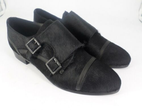 Js51 8 Eu 06 Muffy 41 Ted Uk Hair amp; Black Loafer Buckled Foxtrot wzngx8SAPn