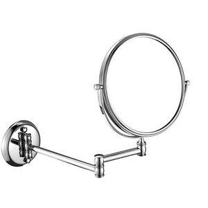 Wall Mount Extend 2 Faces Clear Makeup Mirror 5x 10x