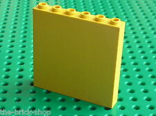 Mur jaune LEGO TRAIN Yellow brick 3754 / set 232 4554 6426 6337