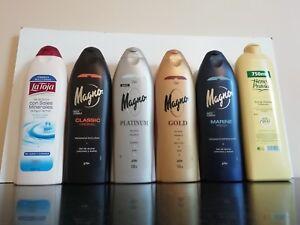 Spanish shower bath gels x 2 bottles magno la toja heno de pravia uk
