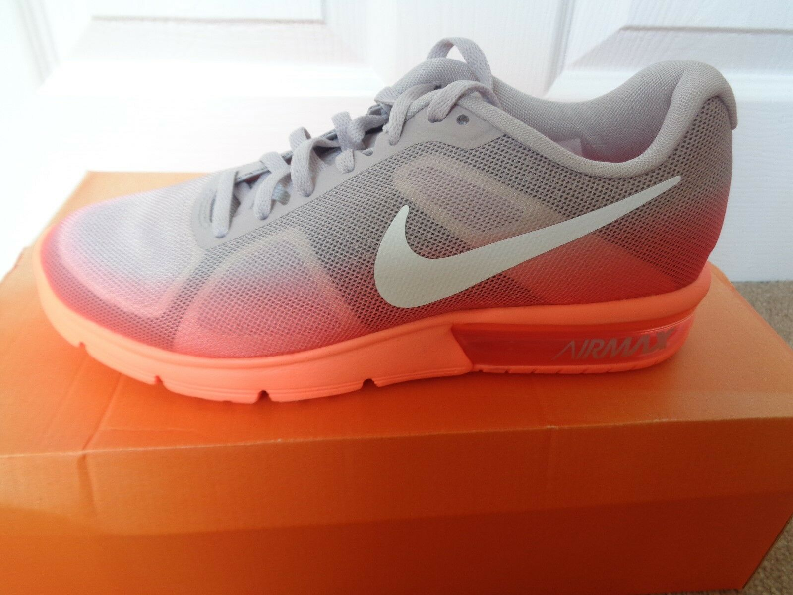 Nike Air Max Sequent trainers shoes 719916 802 uk 4.5 eu 38 us 7 NEW IN BOX