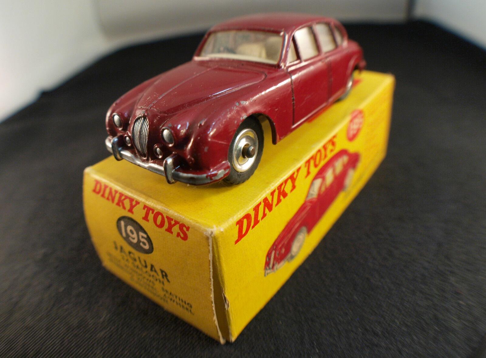 Dinky Juguetes GB n° 195 Jaguar 3.4 Saloon en boite