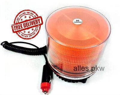 LED Rundumleuchte 12 V Volt Magnet Warnleuchte Rundumlicht Rundumkennleuchte