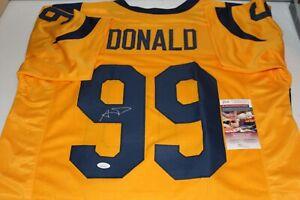 e0448d1f499 Aaron Donald Autographed Signed St. Louis Rams Color Rush Jersey JSA ...