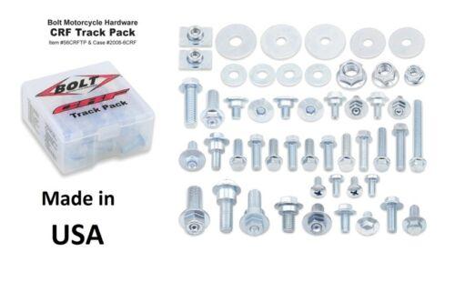BOLT Track Pack II Set di viti schraubenkit PER HONDA CRF CR 56 pezzi