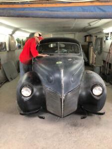 Restored 1940 Ford Merc